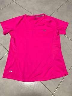 Brand new women Anta hot pink running top