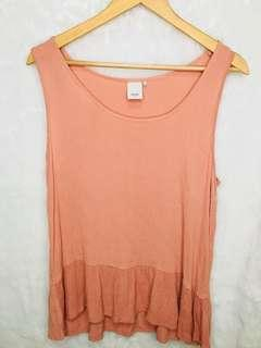 Ichi brand coral top