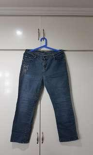 Straight Cut Jeans for Women Size 30