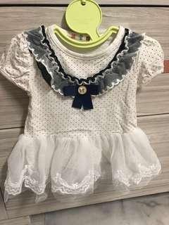 🚚 合售80-90cm女寶洋裝3件