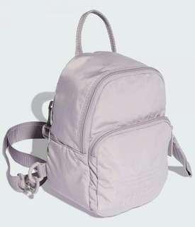 Adidas mini backpack purple
