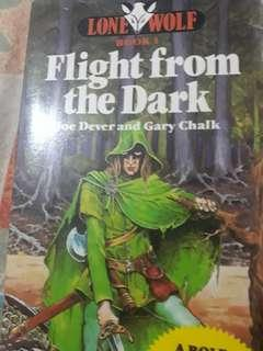 Flight from the Dark joe dever lone wolf
