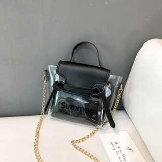Korean Transparent Sling Bag