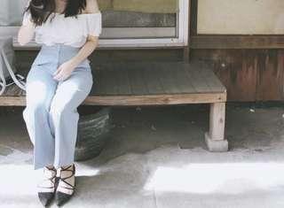 Oak&Fort Blue Culottes Size S