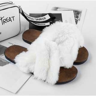 Fluffy Fur Slipper