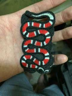 Gucci Snake Velcro patch