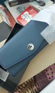 Oroton - MELANIE (BRAND NEW) clutch / wallet NAVY COLOUR