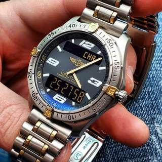 Breitling Aerospace Titanium with 18k gold