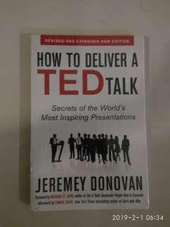 How to deliver a TED talk by Jeremey  Donovan 75% lower than original price. #JAN50