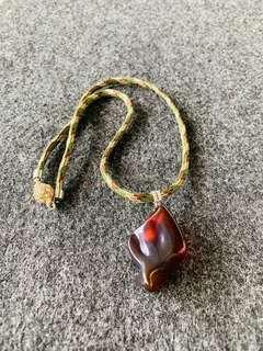 🚚 Amber pendents, Burma Origin