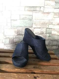 Jeans wedges 3 inch'