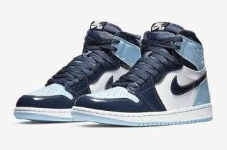 5e04c9a7be04 Nike Air Jordan 1 UNC Patent