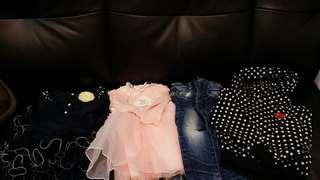 Made in Korea, 裙、牛仔褲、衫,三至四歲