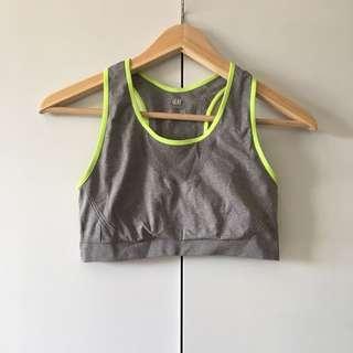 h&m sports bra size 14-16