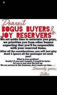 To all buyers