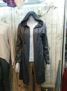 Cardigan hoodie