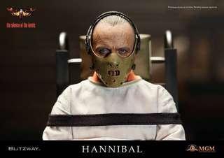 全新 Blitzway BW010Z Silence of the Lambs 沉默的羔羊 Hannibal 人魔 Straitjacket Version Hottoys