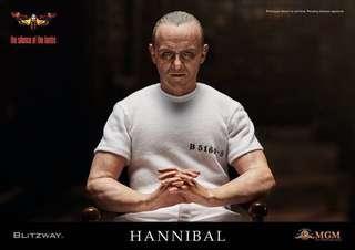 全新 Blitzway BW010Y Silence of the Lambs 沉默的羔羊 Hannibal 人魔 White Prison Version Hottoys