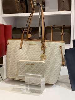 MK Tote Bag and Wallet