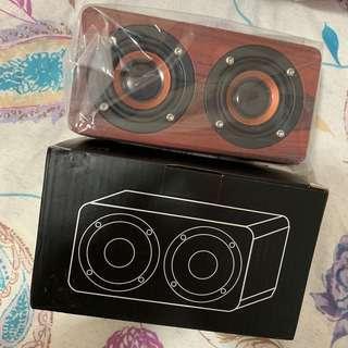 METZ W series 精美迷你木紋喇叭 speaker bluetooth 藍芽 藍牙 揚聲器