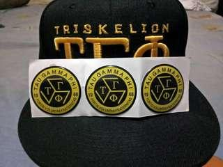 Triskelion Stickers and Pins