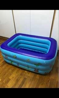 🚚 Inflatable bathtub