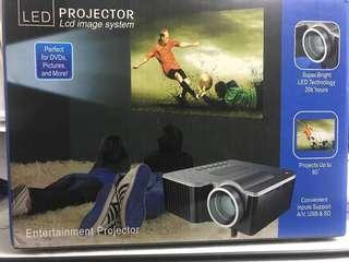 LED projector clear stock