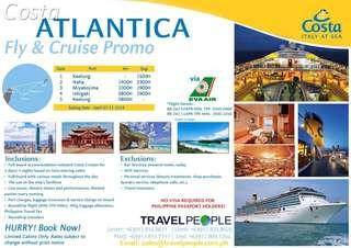 Asian cruise at a discounted price