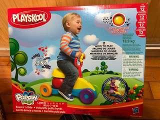 🚚 POPPIN PARK兒童寶ㄉㄨㄞˉㄉㄨㄞˉ彈跳小推車