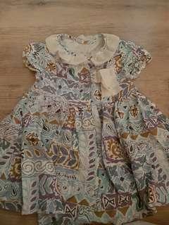 Preloved dress anak,baju terusan anak