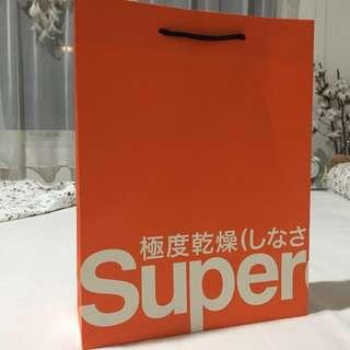 Paperbag SuperDry small