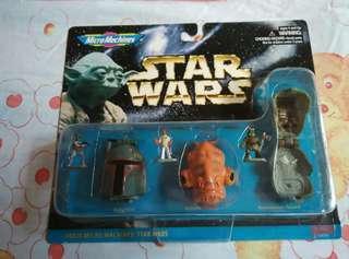 經典Star Wars 玩具
