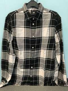 H&M CHECK SHIRT