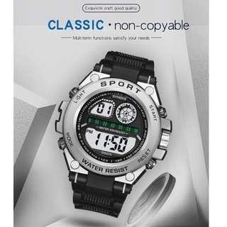 Original Synoke Waterproof Digital Sports Men's Watch Gift