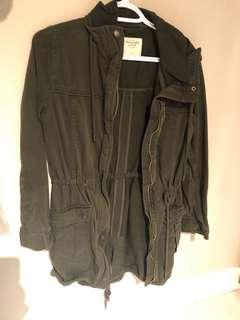 Abercrombie and Fitch Utility/ Army/Military jacket