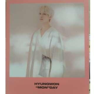MONSTA X HYUNGWON 2019 SEASON GREETING PC + POLAROID