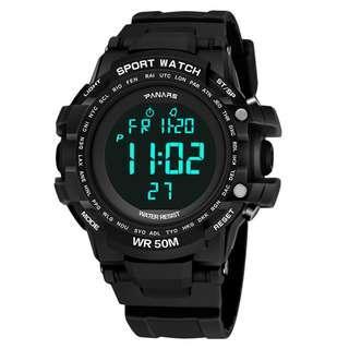 Original Panars Sports Waterproof Digital Men's Watch