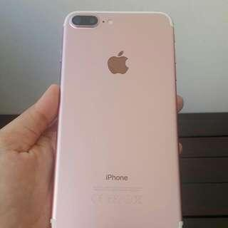 iPhone 7 plus 128 gb rose gold mulus