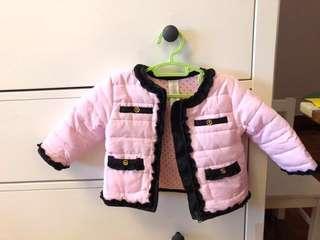 🚚 女嬰#小香風外套