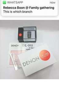 Denon -103 MC cart