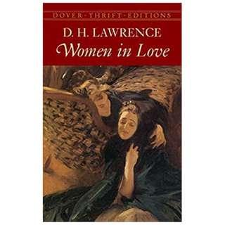 Women in Love (Dover Thrift Editions) by D. H. Lawrence