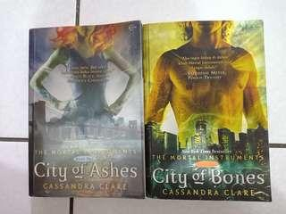 City of Bones & City of Ashes