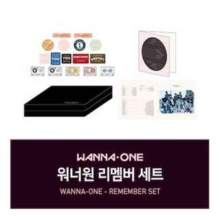 WTB REMEMBER SET WANNA ONE