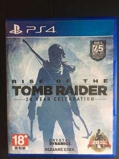 盜墓者蘿拉: 崛起 The rise of Tomb Raider 中英文版