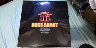 Ex合金 boss borot 1901 大鐵牛 彩色版 金屬位有銹通病