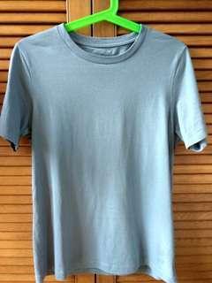 Muji Plain Cotton T Shirt