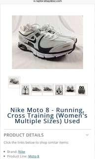 Authentic Nike Air Moto 8