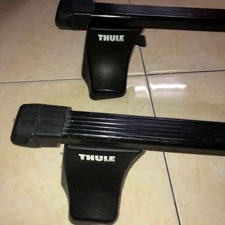 Thule Square Bar Base Rack / Roof Rack