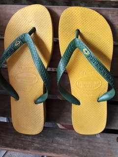 SALE!!! 2 Days Reservation Only! PreLoved Brazil Edition Fliptops (Havaianas Brand)