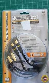 Monster Cables - MonsterVideo1 2m (6.6ft)